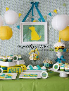 SimplySweet Treat Boutique: Dog-themed Birthday Party
