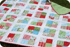 Synchronized Squares quilt along by ps i quilt.  I played along and it was soooo easy.