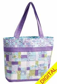 Lavender and Leather Digital Pattern from ShopFonsandPorter.com