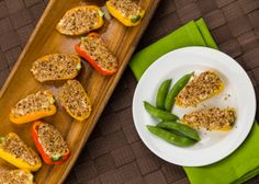 Bell Pepper Poppers – Bring this colorful appetizer to any holiday event.