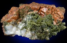 Epidote, Andradite Garnet, Quartz from South Slocan, British Columbia, Canada