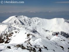 Reaching the summit of Mount Linsdey.