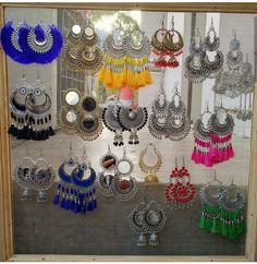 Jewelry Design Earrings, Ear Jewelry, Cute Jewelry, Fashion Earrings, Bridal Jewelry, Jewelery, Fancy Jewellery, Indian Jewellery Design, Ethnic Jewelry