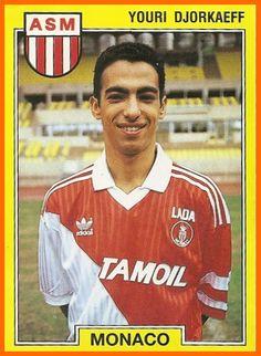 youri djorkaeff Monaco 1990-95 Football Drills, Best Football Players, Good Soccer Players, World Football, Football Soccer, As Monaco, Football Stickers, Football Cards, Football Memorabilia