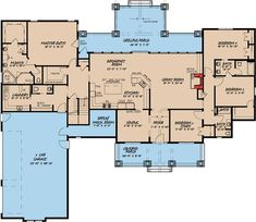 Mountain Style 4 Bedroom House Plan with 2 Bonus Rooms - 70531MK | 1st Floor Master Suite, Bonus Room, Bungalow, Butler Walk-in Pantry, CAD Available, Corner Lot, Country, Craftsman, Den-Office-Library-Study, Jack & Jill Bath, Mountain, PDF, Split Bedrooms | Architectural Designs