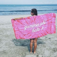 Get your beach time in while you can! The clock is ticking on Summer ⏱… Phi Sigma Pi, Phi Mu, Theta, Sorority Outfits, Sorority Shirts, Big Little Basket, T Shirt Time, Custom Greek Apparel, Alpha Chi Omega