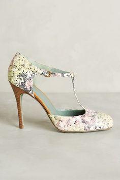 Mosaico Rosa Heels - anthropologie.com