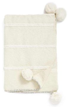 Nordstrom at Home 'Feather Stripe' Throw Blanket