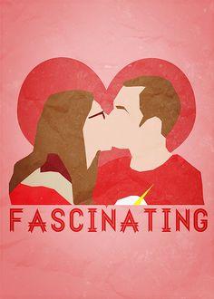 Sheldon and Amy Farrah Fowler.