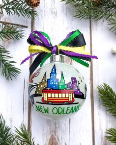 New Orleans Ornament New Orleans Wedding Gifts New Orleans | Etsy