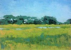"""Marsh Island"" - Original Fine Art for Sale - © Mary Gilkerson"