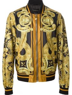 Versace - Printed Jacket