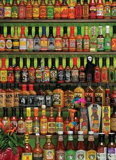 cool Hot Hot Sauce Jigsaw Puzzle