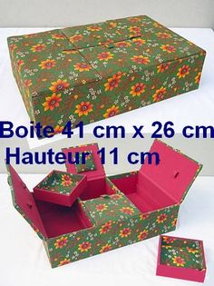 French site. Box making tuts with good pictures.