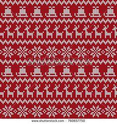 Vind Set of Fair Pattern sweater design on the wool knitted texture. Red and Blue Knitting Ornament stockafbeeldingen in HD en miljoenen andere rechtenvrije stockfoto's, illustraties en vectoren in de Shutterstock-collectie. Xmas Sweaters, Baby Sweaters, Mini Cross Stitch, Cross Stitch Embroidery, Christmas Knitting, Sweater Design, Christmas And New Year, Color Patterns, Red And Blue