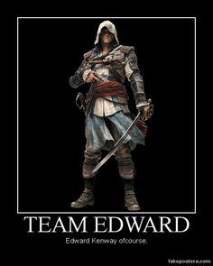 Team Edward. by JohnnyTlad.deviantart.com on @deviantART
