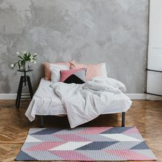 Современные интерьерные ковры от «запойной вязальщицы»: Instagram недели — BurdaStyle.ru