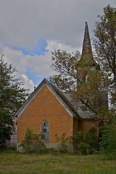 Oakdale Nebraska Abandoned Church