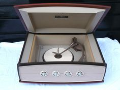 1960s Pye 1005 Stereophonic Projection System record player on eBay
