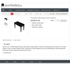 this is a great bench for the student http://adjustablepianobench.net