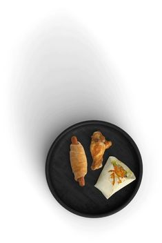 Tío Luchín - Cocina en vivo Bagel Shop, Plates, Tableware, Branding, Website, Food, Cooking, Licence Plates, Dishes