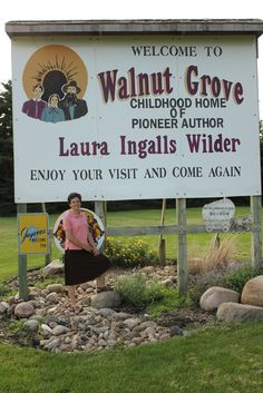 walnut grove, mn - laura ingalls wilder -Little house on the prairie Laura Ingalls Wilder, Walnut Grove Minnesota, Ingalls Family, Minnesota Home, South Dakota, Along The Way, Travel Usa, Iowa, Missouri