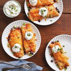 Black Bean and Cheese Enchiladas with Ranchero Sauce   A Year of Meatless Meals   MyRecipes.com