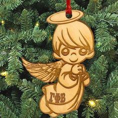Gamma Phi Beta Angel Ornament - LZR