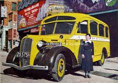 戦前のボンネットバス