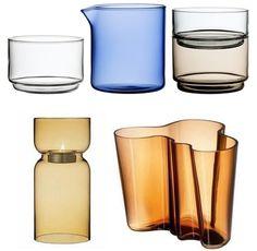 Iittala glassware I Finnish Design Cup Design, Glass Design, Kosta Boda, Crystal Collection, Glass Containers, Fine Furniture, Scandinavian Design, Finland, Glass Art