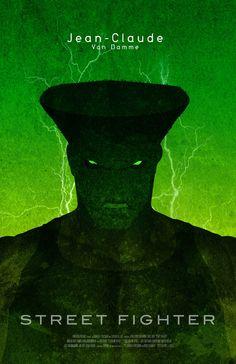 Street Fighter Movie Poster Redesign #design #streetfighter #movie #poster