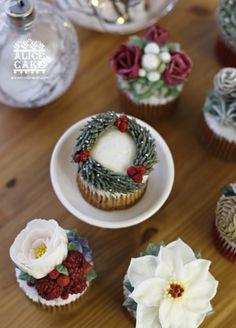 크리스마스 컵케이크, 크리스마스케익,크리스마스 원데이크리스마스 베이킹,특별한 케이...