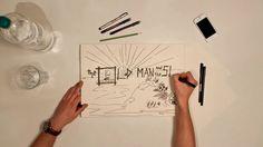 """Handgezeichneter Stop-Motion-Film, inspiriert von Ernest Hemingway's Kurzgeschichte """"The Old Man And The Sea"""".  Zeichnung // Hagen Reiling Kamera, Animation //…"""