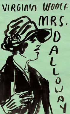 Penguin Essentials: Rough cover concept for Mrs Dalloway © Leanne Shapton