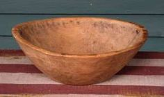 Very Early American Bowl - Appears to be American Indian. Made of Elm. All hand…
