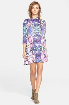 Free+People+'Fiesta'+Floral+Dress+available+at+#Nordstrom