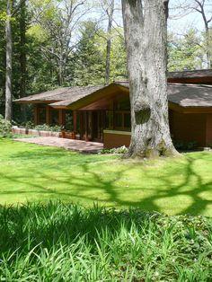 Frank Lloyd Wright Designed Zimmerman House
