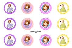 Sophia bottlecap images for hairbows