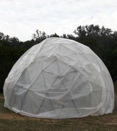 DIY Geodesic Dome From DIYready | A Structure that, due to its Unique Design, is one of the Strongest, Lightest Shelters you can Build, out of Materials you can Find Readily Available by Survival Life http://survivallife.com/2013/11/11/diy-geodesic-dome-from-diyready/