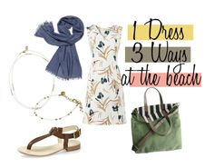 Fair Fashion Inspiration 1 Dress 3 Ways at the Beach // Nachhaltige Mode Inspiration 1 Kleid 3 Outfit am Strand