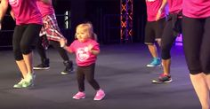 6-Year-Old Girl With Rare Disease Stuns The Audience With Her Dance Moves via LittleThings.com