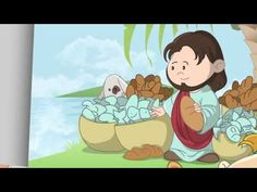 (31) Jesus' Miracles - Little Bible Heroes animated children's stories - YouTube