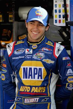Chase Elliott - Bristol Motor Speedway. My new favorite driver because he is young and talented. The future of Nascar looks very bright with this young man as the star. I also like him because he races for Dale Earnhardt Jr and he was born two days before I was.