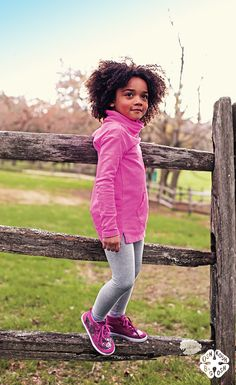 With our fall tunics & leggings combos, she'll take whatever perch she wants (in style!)