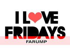 Nós amamos a sexta-feira!  Aproveite cada momento do seu final de semana com as peças da Farump!