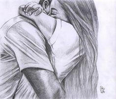 Amazing drawings, easy love drawings, drawings of people easy, pencil drawings of love Easy People Drawings, Cute Drawings Of Love, Cute Couple Drawings, Sketches Of People, Anime Couples Drawings, Amazing Drawings, Drawing People, Easy Drawings, Couple Drawing Images