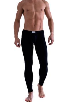 PanDaDa Mens Underpants Thermal Low Rise Long Johns Pants Underwear >>> This is an Amazon Affiliate link. Want additional info? Click on the image.