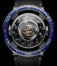 MB&F HM7 Aquapod Tourbillon Diving-Style Watch Watch Releases
