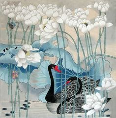 Chinese painting by Zhao Guo Hua