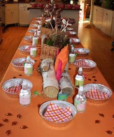 Camping Themed Girls Birthday Party Ideas or Camp Fundraiser--YW ideas from 2 sisters (Sam & Sarah) White Trash Party, Redneck Party, Hillbilly Party, Camping Parties, Camping Themed Party, Camping Lunches, Camping Packing, Camping Gear, Rosalie
